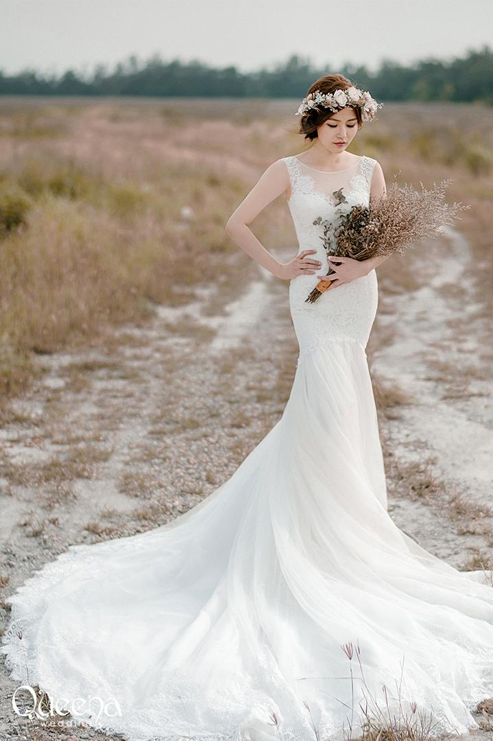 昆娜經典婚紗-婚紗禮服 婚紗禮服 F